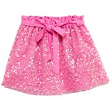 Anne Kurris Pink Embroidered Sequin Skirt