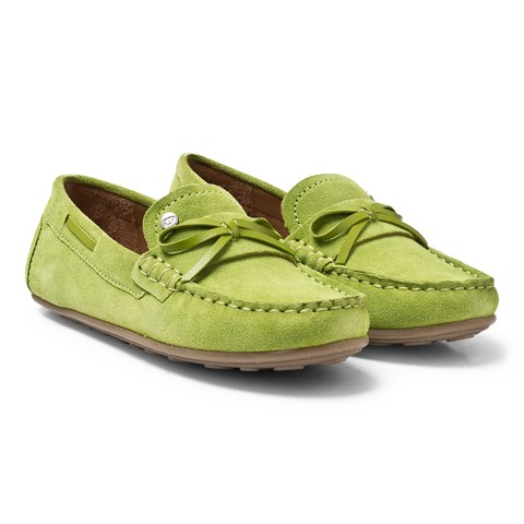 Mayoral Green Bow Moccasins