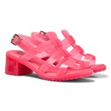 Mini Melissa Pink Strappy Heeled Sandals