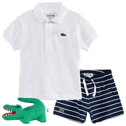 c768212cbe Lacoste Polo, Shorts and Toy 3 piece Gift Set | AlexandAlexa