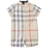 Burberry Pale Classic Check Shortall