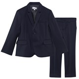 Paul Smith Junior Navy Cool Wool Suit