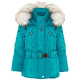 Poivre Blanc Blue Infant Belted Ski Jacket