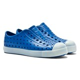 Native Junior Blue Jefferson Glow-in-the-Dark Shoes