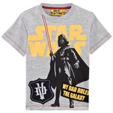Fabric Flavours Grey Marl Darth Vader Tee