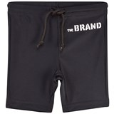 The BRAND Black Swim Biker Shorts