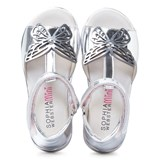 Sophia Webster Mini Flutterby Silver Sandals