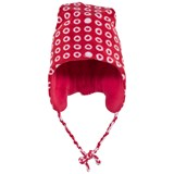 Sterntaler Red Fleece Ear Flap Fleece Hat