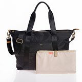 Jem + Bea Black Lola Tote Changing Bag