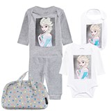 Little Eleven Paris Elsa Print 4 Piece Set in Bag