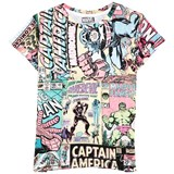 Little Eleven Paris Marvel Comics All-Over Print Tee
