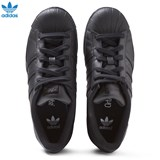 adidas Originals All Black Superstar Trainers