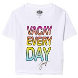 Juicy Couture White Vacay Every Day Tee