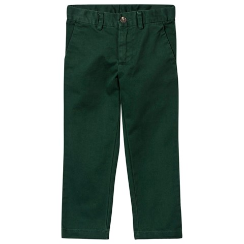 Pine Green Slim Fit Chinos