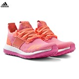 adidas Pink and Orange Pure Boost ZG Trainers