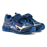 Geox Android Dragon Print Light Up Trainers