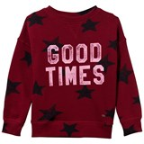 O'Neill Red Star Print Good Times Sweatshirt
