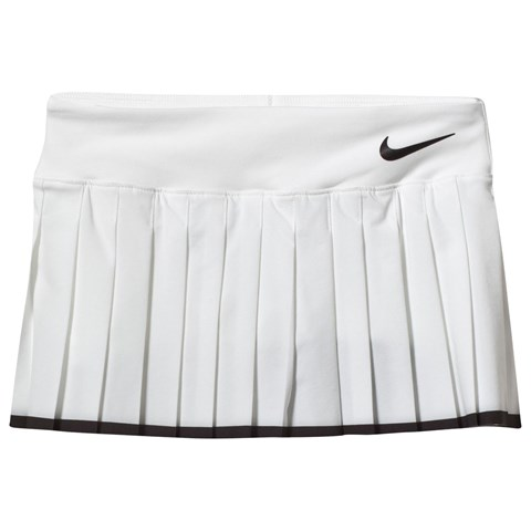 White Victory Tennis Skirt