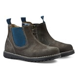 Primigi Grey and Blue Contrast Chelsea Boots
