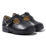 Start-rite Navy Jo III Leather Buckle Shoes