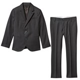 Armani Junior Charcoal Wool 2 Button Suit