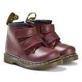 Dr. Martens Brooklee Cherry Red Velcro Infants Boots