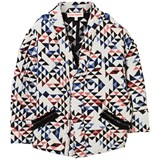 Anne Kurris Multi Quilted Geometric Jacket