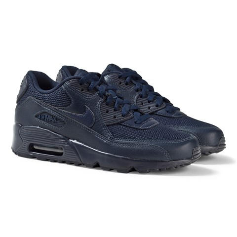 All Navy Air Max 90 Mesh Trainers