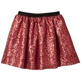 Relish Red Sequin Skirt with Diamante Waistband