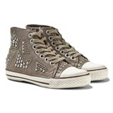 Ash Shoes Flash Nappawax Star Studded Trainers