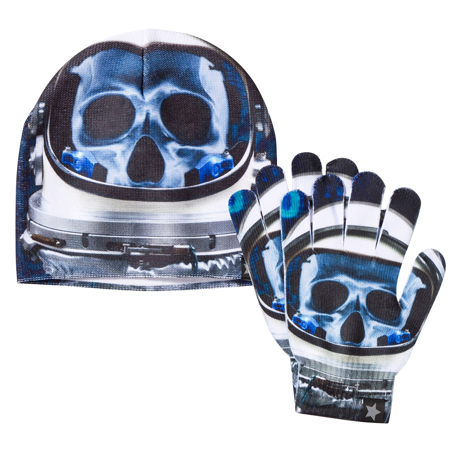a476b77626a Molo Cyber Space Kaya Gloves and Hat Set