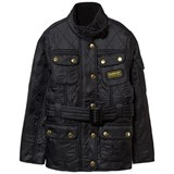 Barbour Black International Quilt Jacket