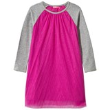 Le Big Pink Tulle Dress with Raglan Sleeves