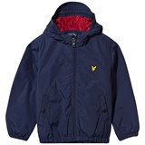 Lyle & Scott Navy Hooded Jacket