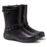 Geox Black Crissy Leather Waterproof Boots