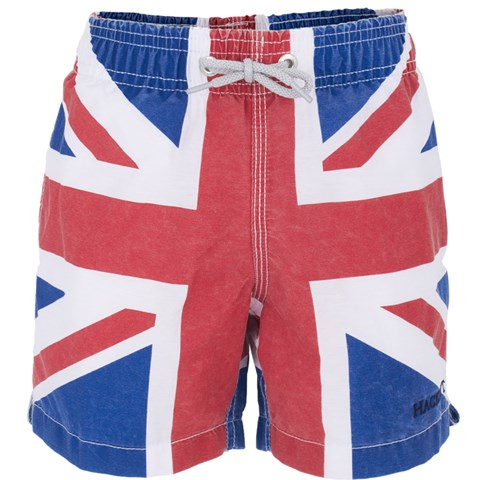 1493384421 Hackett Union Jack Swim Shorts | AlexandAlexa