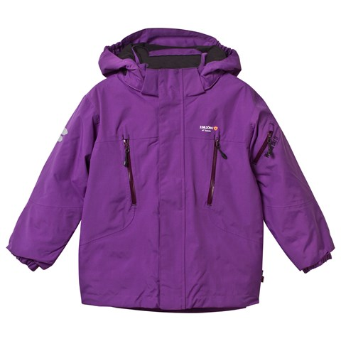 Purple Helicopter Winter Ski Jacket