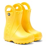 Crocs Kids Yellow Handle It Rain Boots