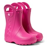 Crocs Kids Pink Handle It Rain Boots