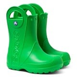 Crocs Kids Green Handle It Rain Boots