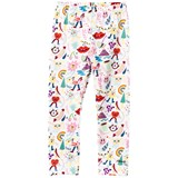 Simonetta White Cartoon Print Leggings