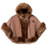 Bandits Girl Camel Faux Fur Cape