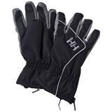 Helly Hansen Black Tyro Ski Gloves