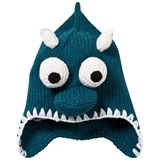 Animal Teal Monster Knitted Beanie