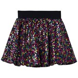 Little Eleven Paris Multicolour Sequin Tulle Skirt