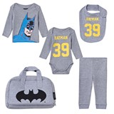 Little Eleven Paris 5 Piece Batman Print Set