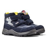Naturino Navy Priuso Waterproof Velcro Ankle Boots
