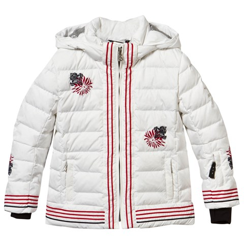 White Flower Ivy Down Jacket