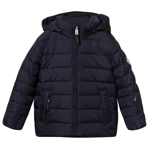 Navy Lando Down Jacket