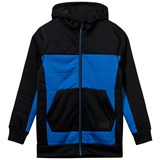 Volcom Blue and Black Fleece Baselayer